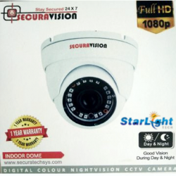 2MP IP Starlight Dome Camera